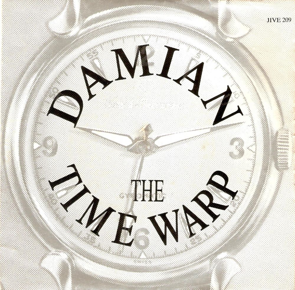 DAMIAN The Time Warp Vinyl Record 7 Inch French Jive 1989